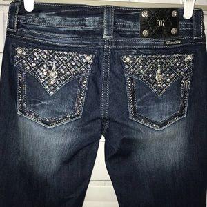 Miss Me JP7077B Signature Boot Jeans 29 long